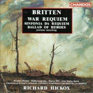 Image for 'War Requiem/Sinfonia Da Requiem/Ballad Of Heroes'