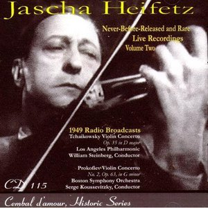 Image for 'Jascha Heifetz Live: Never-Before-Released and Rare Live Recordings, Vol. 2'