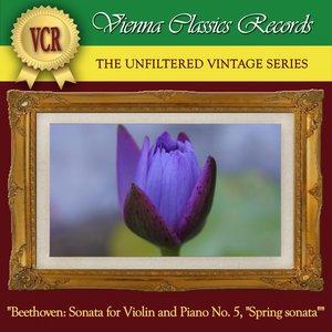 "Image for 'Beethoven: Sonata for Violin and Piano No. 5 in F Major, Op. 24, ""Spring Sonata""'"