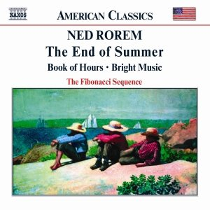 Image for 'ROREM: End of Summer / Book of Hours / Bright Music'