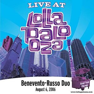 Image for 'Live at Lollapalooza 2006: Benevento Russo Duo'
