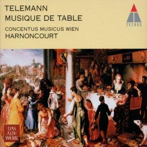 """G.F.Telemann: Tafelmusik""的封面"