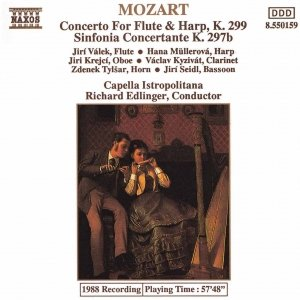 Image for 'MOZART: Concerto for Flute and Harp / Sinfonia Concertante'