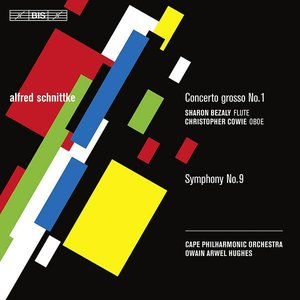 Image for 'Concerto Grosso No. 1 / Symphony No. 9 (Cape Philharmonic Orchestra feat. conductor: Owain Arwel Hughes)'