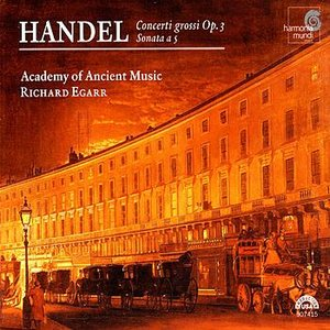 Image for 'Handel: Concerto grosso Op. 3 No. 2 in B-flat major: I - Vivace'