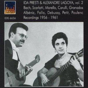 Image for 'Ida Presti & Alexandre Lagoya, Vol. 2: Recordings 1956-1961'
