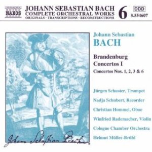 Image for 'BACH, J.S.: Brandenburg Concertos, Vol. 1'