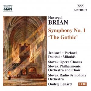 Image for 'BRIAN: Symphony No. 1, 'The Gothic''