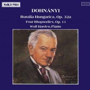 Image for 'DOHNANYI: Ruralia Hungarica / Four Rhapsodies'