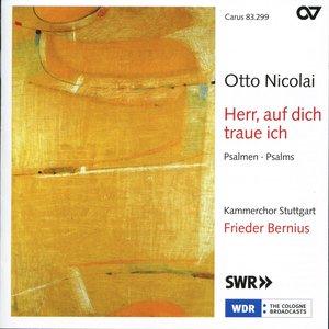 Image for 'Otto Nicolai: Herr, Auf Dich Traue Ich'