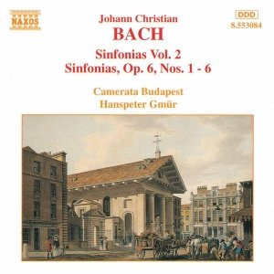 Image for 'BACH, J.C.: Sinfonias, Vol.  2'