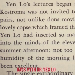 Image for 'Days With Dr. Yen Lo'