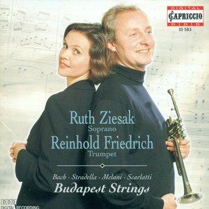 Image for 'Bach, J.S.: Jauchzet Gott in Allen Landen / Melani, A.: Qual Mormorio Giocondo / Scarlatti, A.: Su Le Sponde Del Tebro'