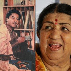 Bild für 'Kishore Kumar & Lata Mangeshkar'
