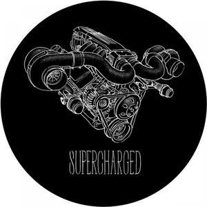 """""""Supercharged""""的封面"""