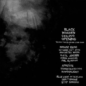 Image for 'Black Wooden Ceiling Opening'