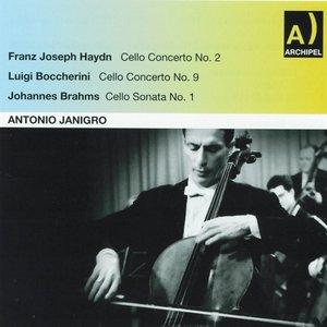 Image for 'Franz Joseph Haydn : Cello Concerto No. 2 - Luigi Boccherini : Cello Concerto No. 9 - Johannes Brahms : Cello Sonata No. 1'
