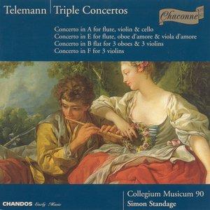 Image for 'Telemann: Triple Concertos'