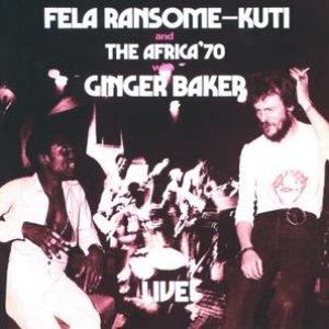 Immagine per 'Fela With Ginger Baker Live!'