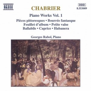 Image for 'CHABRIER: Piano Works, Vol. 1'