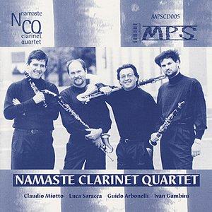 Bild für 'Namaste Clarinet Quartet'