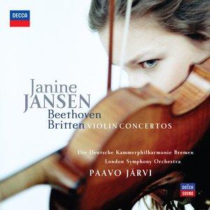 Image for 'Beethoven & Britten Violin Concertos'