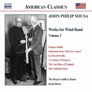Image for 'SOUSA: Music for Wind Band, Vol.  3'