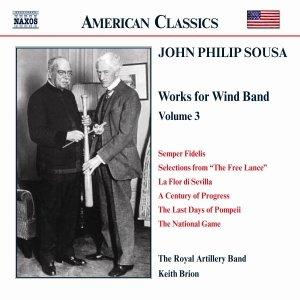 Bild för 'SOUSA: Music for Wind Band, Vol.  3'