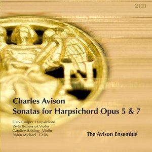 Image for 'Avison: Harpsichord Sonatas, Opp. 5 & 7'