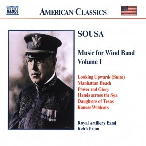 Image for 'SOUSA: Music for Wind Band, Vol.  1'