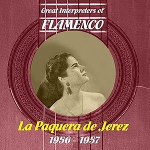Image pour 'Great Interpreters of Flamenco - La Paquera de Jerez, 1956 - 1957'