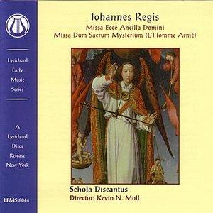 Image for 'Johannes Regis: Missa Ecce Ancilla Domini/Missa Dum Sacrum Mysterium'