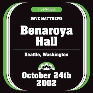 Image for '2002-10-24 Benaroya Hall, Seattle, WA'