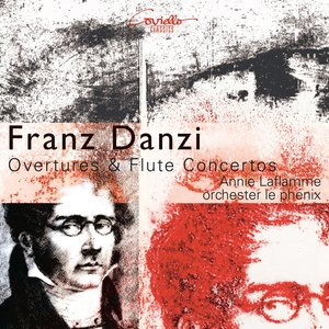 Image for 'Danzi: Overtures and concertos for transverse fl ute and orchestra'