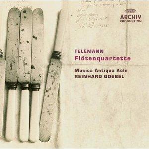 Image for 'Telemann: Flute Quartets'