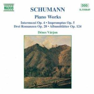 Image for 'Intermezzi, Op. 4 / Impromptus, Op. 5 / 3 Romances, Op. 28'