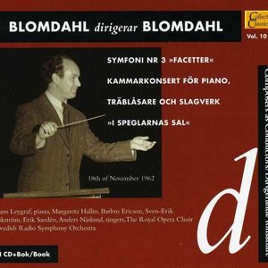 Image for 'Blomdahl Conducts Blomdahl, Vol. 10 (1937-1962)'
