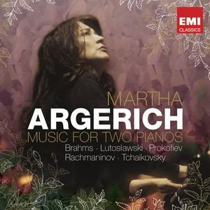 Image for 'Martha Argerich: Music for Two Pianos'