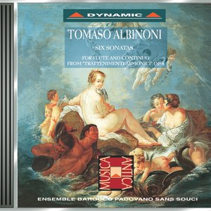 Image for 'Albinoni: Flute Sonatas Nos. 1-6'
