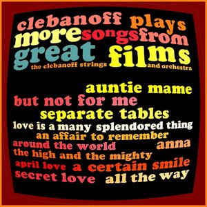 Image for 'Clebanoff Plays More Songs from Great Films'