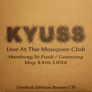 Bild für 'Live At The Marquee-Club'