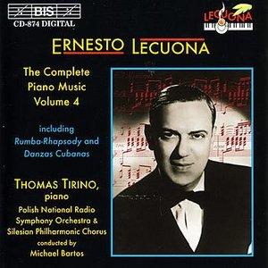 Image for 'LECUONA: Complete Piano Music, Vol. 4'