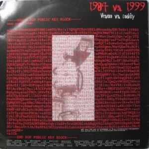Image for '1984 vs. 1999'