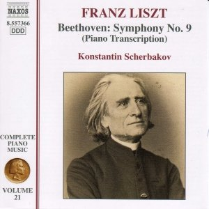 Image pour 'LISZT: Beethoven Symphony No. 9 (Transcription)'