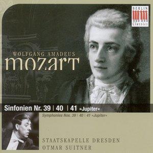 """Bild für 'Wolfgang Amadeus Mozart: Sinfonien Nr. 39, 40 & 41 """"Jupiter""""'"""