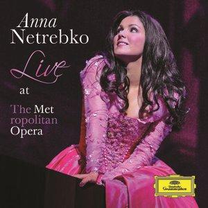 Image for 'Anna Netrebko - Live at the Metropolitan Opera'
