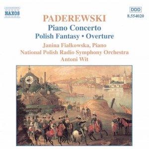 Image for 'PADEREWSKI: Piano Concerto / Polish Fantasy'