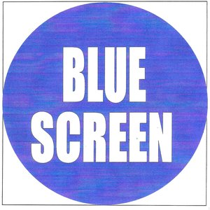 Image pour 'Blue screen'