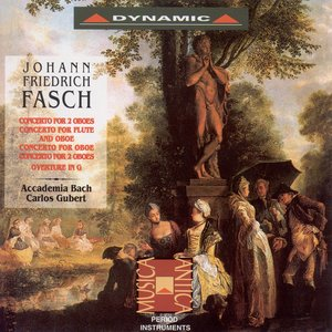 Image for 'Fasch: Concertos for 2 Oboes / Ouverture (Suite) in G Major'