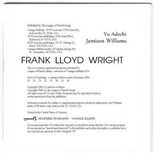Image for 'Frank Lloyd Wright'
